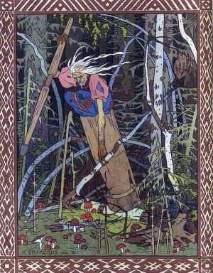 Baba Yaga - Ivan Bilibin (1902)