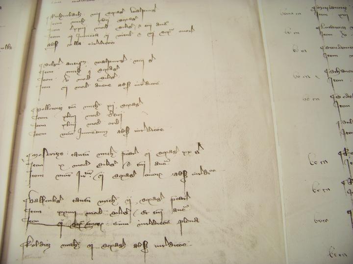Albrechtsburg Writing