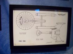 Schematics of 2 iconic ships