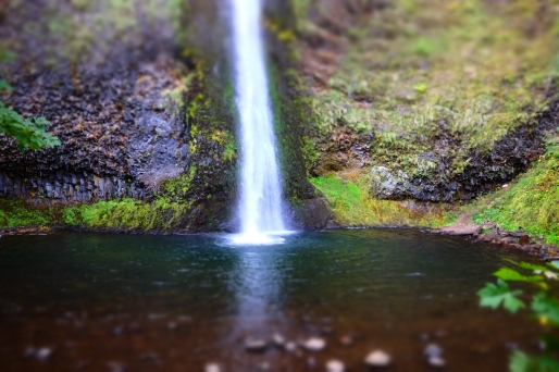 Horsetail Falls - playing with filters